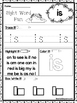 25 Fountas and Pinnell Kindergarten Sight Word Worksheets. Preschool-KDG Workshe
