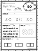 25 Fountas and Pinnell Kindergarten Sight Word Worksheets.