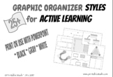 25+ Graphic Organizer Styles for Active Learning Black, Gr