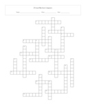 25 Great Film Score Composers Crossword With Key