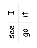 Sight Words Cards, 25 High Frequency Words: Games, Assessment Fountas Pinnell