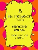 25 High Frequency Words