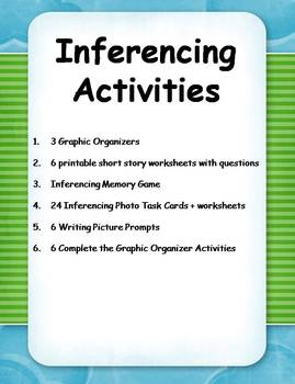 photo about Printable Inference Games referred to as 25+ Inferencing Functions and Printables!