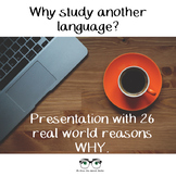 Why Study a Foreign Language 25 Inspirational & Motivational Posters & PP