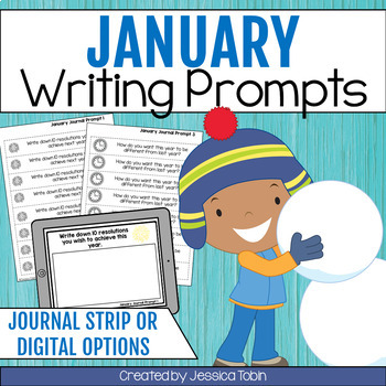 Writing Prompts for January Writing