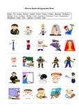 25 Jobs - Occupations A Worksheet