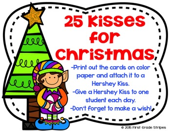 25 Kisses to Christmas