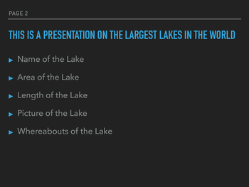 25 Largest Lakes In the World