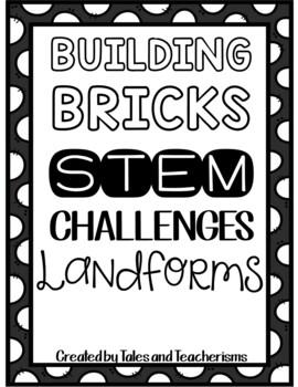 25 Lego STEM / STEAM Landforms Challenges (Plus other landforms activities!)