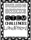 25 Building Blocks STEM / STEAM Landforms Challenges (landforms activities!)