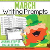 Writing Prompts for March Writing