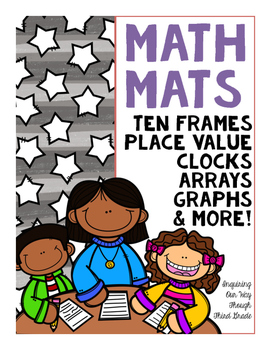 25 {Engaging} Math Workmats!