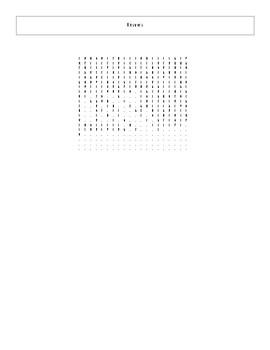 25 More Best Ever Teen Novels Word Search Worksheet and Key