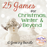 25 Music Games for Christmas, Winter and Beyond, 2016 {A G