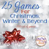 Christmas Music: 25 Music Games for Christmas, Winter and Beyond {2015 Edition}