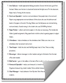 25 Must-Have Classroom Job Ideas (with descriptions)