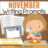 Writing Prompts for November Writing