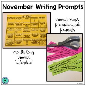 25 November Writing Prompts