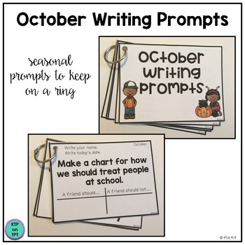 25 October Writing Prompts