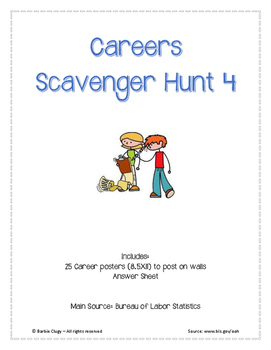 25 Page Careers Scavenger Hunt 4