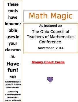 25 Pages of Math Tools: Calendar Time, Tallies, Place Value, Money, and MORE!