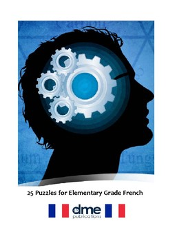 25 Puzzles for Elementary Grade French