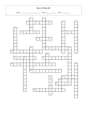 25 Question Diary of a Wimpy Kid Crossword with Key