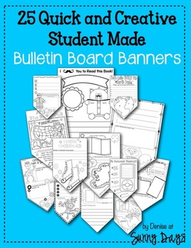 25 Quick and Creative Student Made Bulletin Board Banners