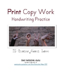 25 Quotes About Love Print Copywork for Handwriting Practice