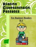 25 Reading Comprehension Passages  K-1  Volume 1  Common C