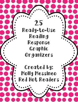 25 Reading Response Graphic Organizers