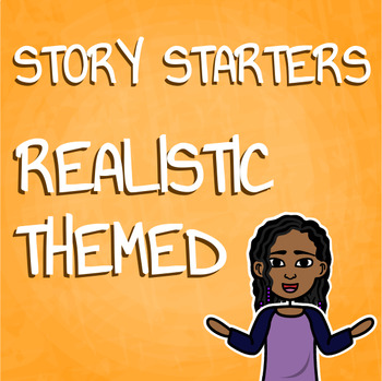 Creative Writing Realistic Story Starter Activity for Writ