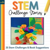 25 STEM Challenges & Book Suggestions   STEM Challenge Stories