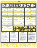 25 Self-Guided Reading Responses for Fiction and Non-Fiction