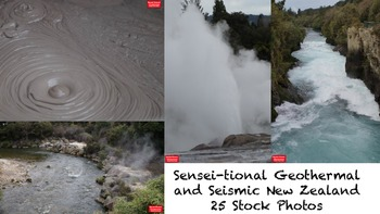 25 Sensei-tional Geothermal and Seismic New Zealand Stock Photos