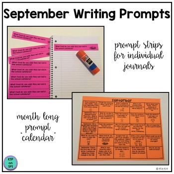 25 September Writing Prompts