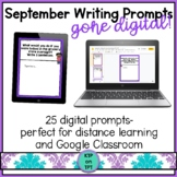 25 September Writing Prompts Gone Digital!