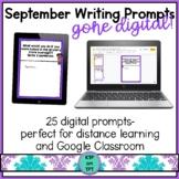 25 September Writing Prompts Gone Digital!