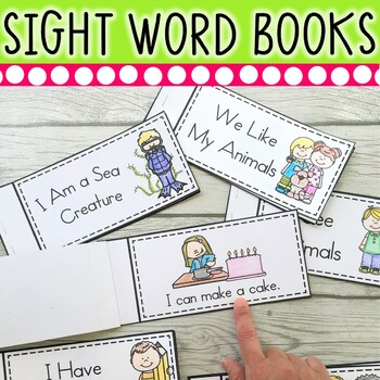 25 Sight Word Books for Beginning Guided Reading or Whole Group Instruction