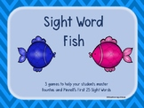 25 Sight Word Fish {Fountas & Pinnell}