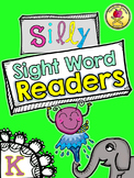 25 Silly Sight Word Readers for Kindergarten {Printable Slice & Staple}