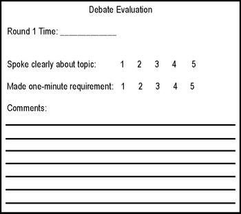 Debates - 25 Social Issues - Reading, Writing, & Speaking in Social Studies