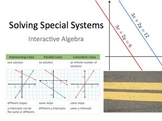 25) Solving Special Systems of Linear Equations (Complete 1 day lesson ppt)