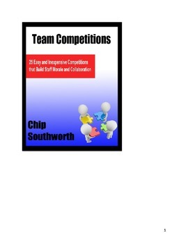 25 Team Competitions for Teachers and Students