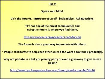 25 Tips for New Teachers Pay Teachers (TPT) Sellers