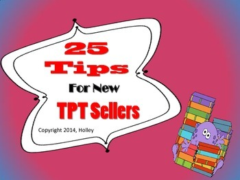 25 Tips for New Teachers Pay Teachers (TPT) Sellers