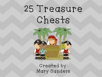 25 Treasure Chests
