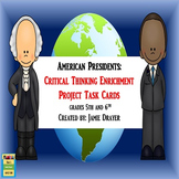 United States Presidents Enrichment Cards: Creative Narratives and Scenarios