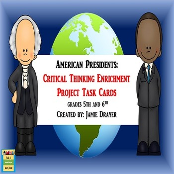 United States Presidents Enrichment Cards: Creative Narrat