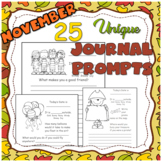 25 UNIQUE November Journal Prompts